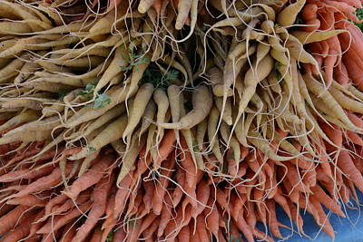 Carrots And Turnips Art Print