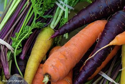 Photograph - Carrots by Nance Larson