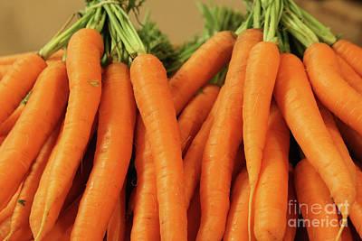Photograph - Carrots by PJ Boylan