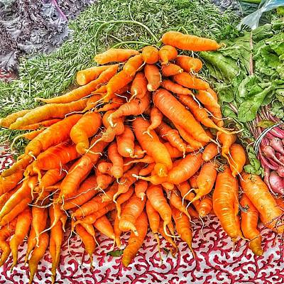 Photograph - Carrots by Susan Morrow