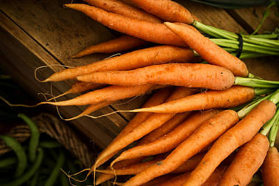 Vegetables Photograph - Carrots by Tanya Harrison