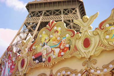 Photograph - Carrousel by JAMART Photography
