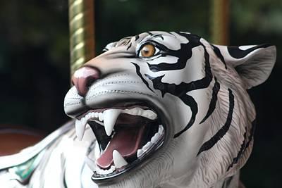 Carrousel Tiger Art Print by Diane Merkle