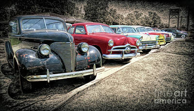 Photograph - Cars For Sale by Marion Johnson