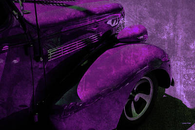 Photograph - Cars Master Deluxe Pavement Fuschia by Lesa Fine