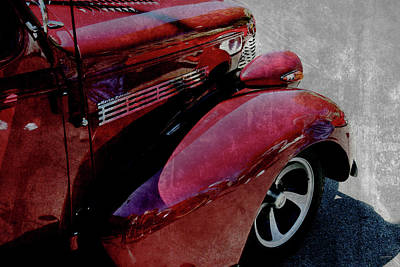 Photograph - Cars Master Deluxe Pavement by Lesa Fine