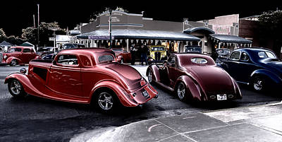 Photograph - Cars On The Strip by Brian Kinney