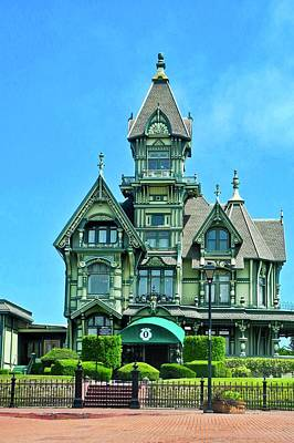 Photograph - Carson Mansion In Eureka by Kirsten Giving