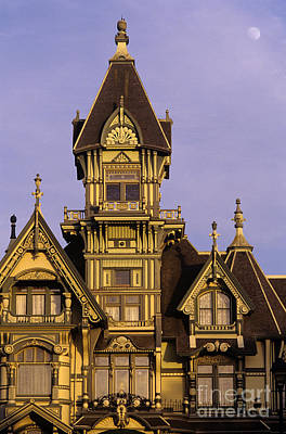 Photograph - Carson Mansion by Jim Corwin