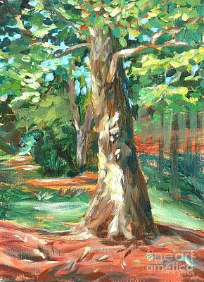 Painting - Carson Park Tree by Claire Gagnon