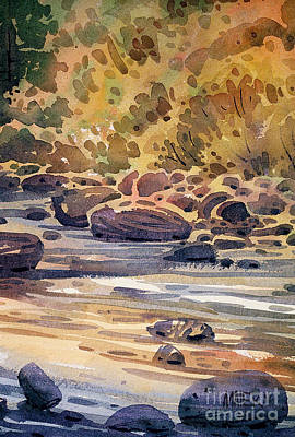 Painting - Carson River In Autumn by Donald Maier