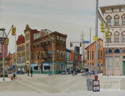 Carson Street Southside Pittsburgh Original by Robert Bowden