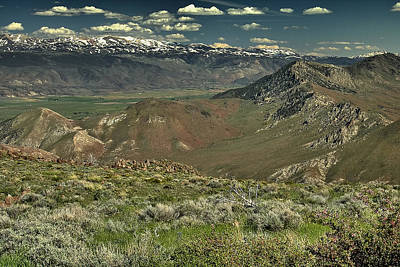 Photograph - Carson Valley 1 by Michael Gordon