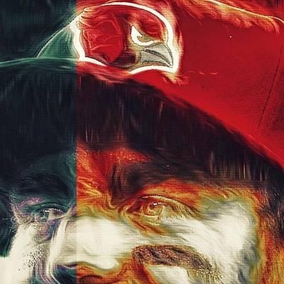 Money Photograph - @carsonpalmer3 #carsonpalmer #cardinals by David Haskett II