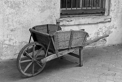 Cart For Sale II Art Print by Suzanne Gaff