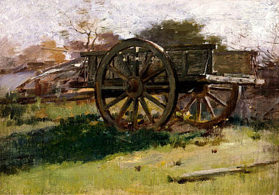 Painting - Cart, Nantucket by Theodore Robinson