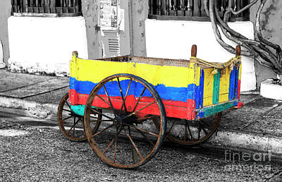 Photograph - Cartagena Cart by John Rizzuto