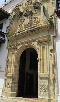 Photograph - Cartagena Door 3 by Randall Weidner