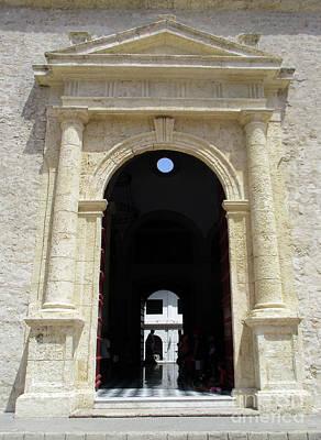 Photograph - Cartagena Door 4 by Randall Weidner