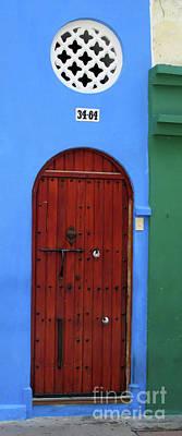 Photograph - Cartagena Door 5 by Randall Weidner