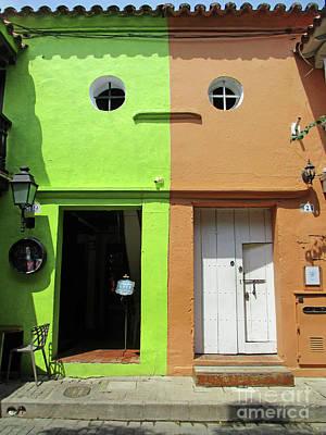 Photograph - Cartagena Door 7 by Randall Weidner