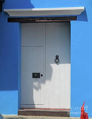 Photograph - Cartagena Door 8 by Randall Weidner