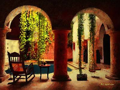 Painting - Cartagena Morning by RC deWinter