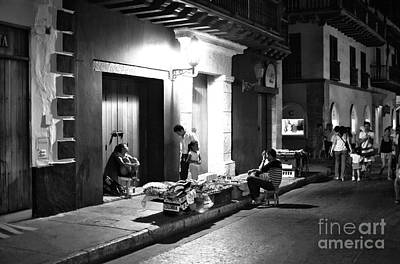 Photograph - Cartagena Noir by John Rizzuto