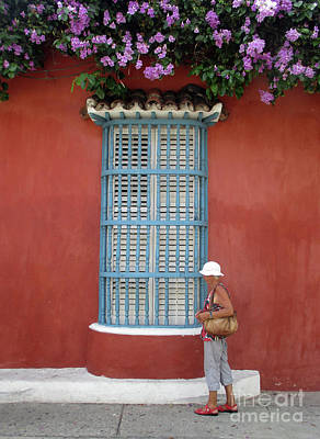 Photograph - Cartagena People 4 by Randall Weidner
