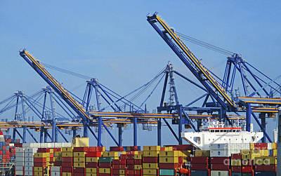 Photograph - Cartagena Port 1 by Randall Weidner