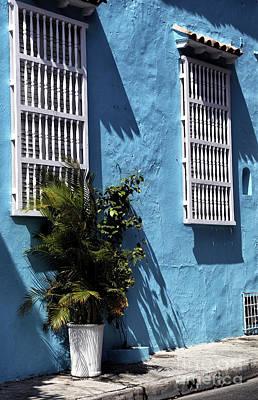 Photograph - Cartagena Street Scene by John Rizzuto