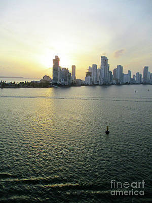 Photograph - Cartagena Sunset 3 by Randall Weidner