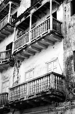 Photograph - Cartagena White Washed by John Rizzuto