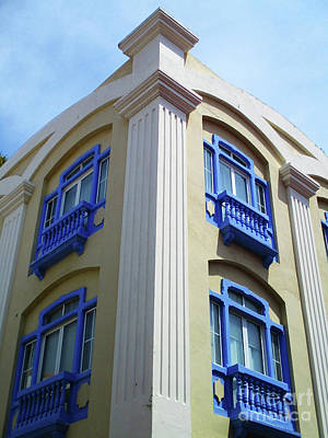 Photograph - Cartagena Windows 10 by Randall Weidner