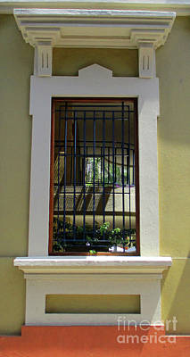 Photograph - Cartagena Windows 15 by Randall Weidner