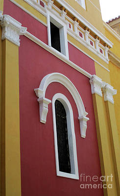 Photograph - Cartagena Windows 9 by Randall Weidner