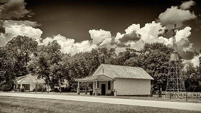 Carter Boyhood Home Art Print