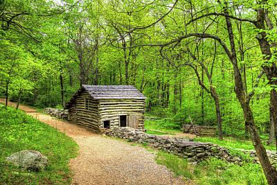Photograph - Carter Farm Barn by Dale R Carlson