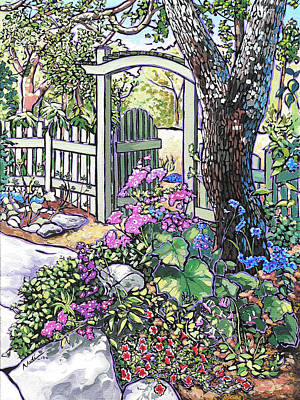 Carter Garden Art Print by Nadi Spencer