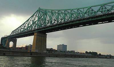 Photograph - Cartier Bridge 1 by Ron Kandt
