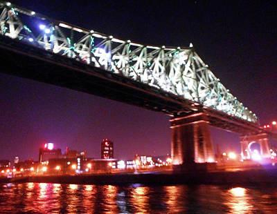 Photograph - Cartier Bridge 5 by Ron Kandt