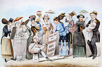 Photograph - Cartoon: Womens Rights by Granger