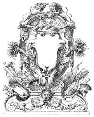 Cartouches, 18th Century Art Print by Granger