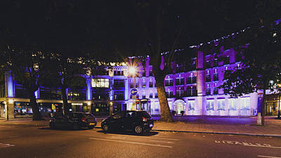 Photograph - Cartwright Gardens By Night A by Jacek Wojnarowski