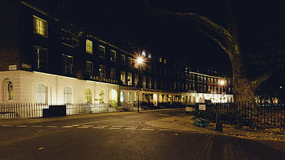 Photograph - Cartwright Gardens By Night C by Jacek Wojnarowski