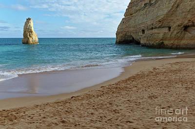 Photograph - Carvalho Beach Scene In Algarve by Angelo DeVal