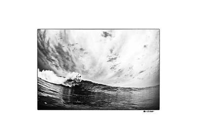 Photograph - carve signature T by Nik West