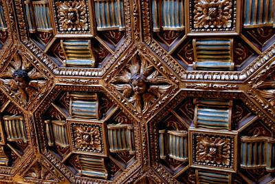 Photograph - Carved Ceiling  by Eric Tressler