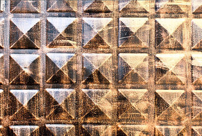 Abstract Relief Photograph - Carved Wood by Tom Gowanlock