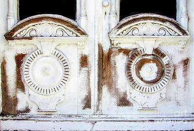 Photograph - Carved Wooden Doors by Frances Ann Hattier
